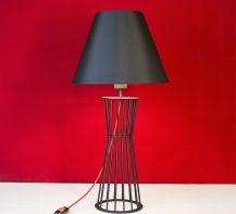 Table lamp Forest by ImperiumLight, black/red