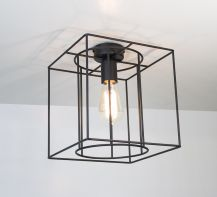 Ceiling lamp Cage by ImperiumLight, black