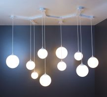 Designer chandelier River manufacturer ImperiumLight, 294113.01.01
