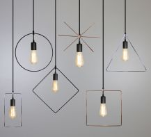 Designer suspension lamp  Geometry by ImperiumLight,  93102.05.05