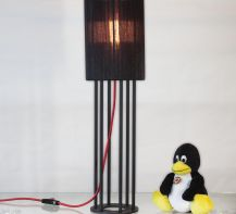 Table lamp Dubai by ImperiumLight, black/red